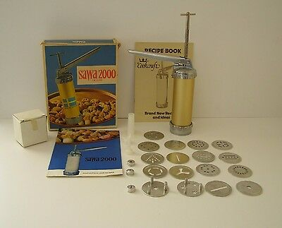 Vintage Sawa 2000 Cookie Press Made in Sweden ~ Boxed ~ Free UK Post