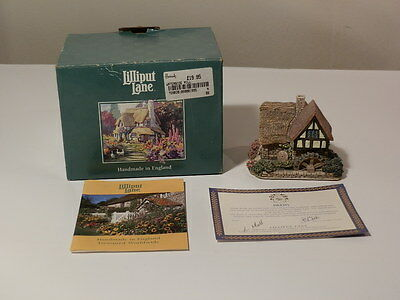 Lilliput Lane Waterside Mill With Box And Coa