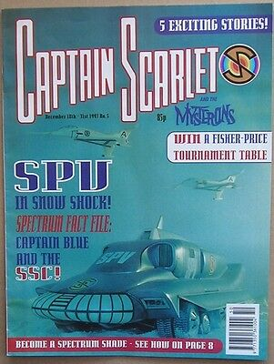 Captain Scarlet and the Mysterons Comic Issue 5 from December 1993
