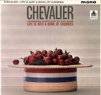 Maurice Chevalier ~ Life Is Just A Bowl Of Cherries ~ 1959 Uk 12-Track Lp Record