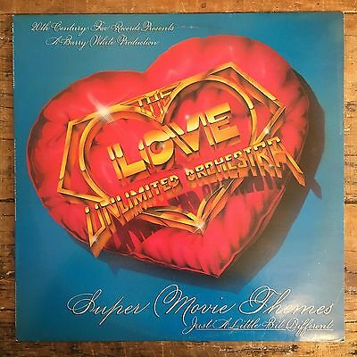 Love Unlimited Orchestra 'super Movie Themes' Lp Barry White Disco 20Th Cent