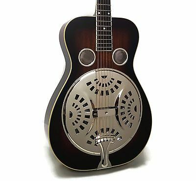Recording King RR-50-VS Professional Round-Neck Acoustic Resonator Guitar