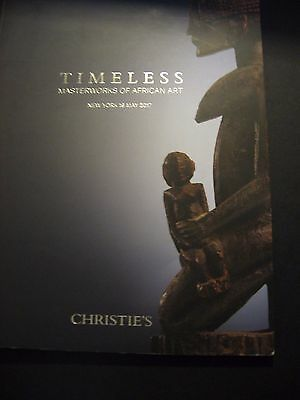 CHRISTIE'S AFRICAN  MAY  19 2017  ART AUCTION CATALOG MASTERWORKS  Masks DOGON