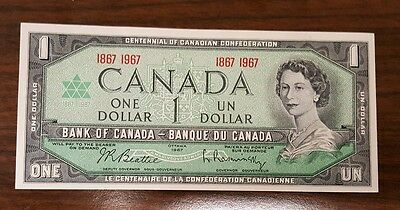 Canada … P-84a … 1 Dollar … 1967 … *UNC*   Commemorative.