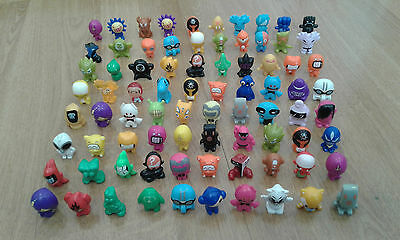 Gogo Crazy Bones Lot Of 80 In One Listing Cheap A Few Doubles And Some Play Wear