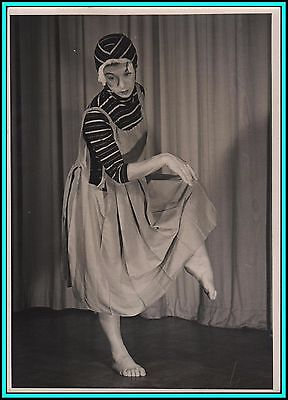 RENATE SCHOTTELIUS - German Dancer - Original Vintage Photo - UNUSUAL