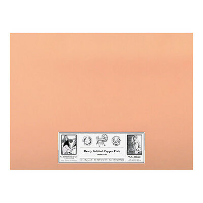Roberson : Polished Copper Etching Plate : 200x150x1.2mm