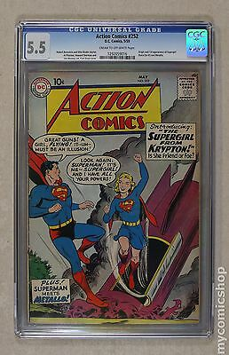 Action Comics (1938 DC) #252 CGC 5.5 1292059016