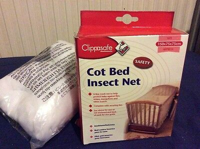 Cot Bed Insect Net 150x75x75