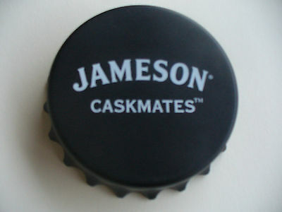 2 Jameson Caskmates Irish Whiskey Bottle Openers Twist Off/Pop Top-Magnetic, New