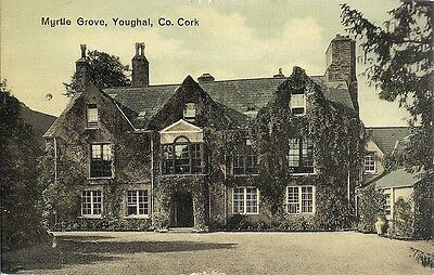 Superb Old Postcard - Myrtle Grove - Youghal - Co. Cork C.1908