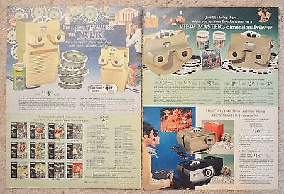 1968 Catalog Ad View Master Talk Flipper Love Bug Lassie Land Giants Snoopy