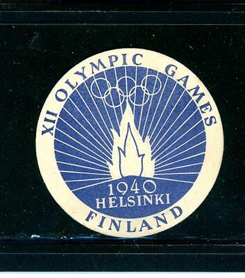 Finland 1940 XII 1940 Olympic Games sticker - rare