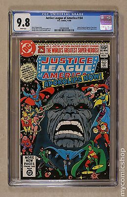 Justice League of America (1960 1st Series) #184 CGC 9.8 0303043008