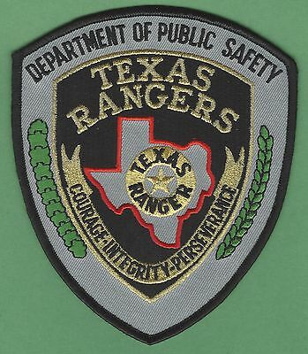 Texas Rangers Public Safety Police Patch