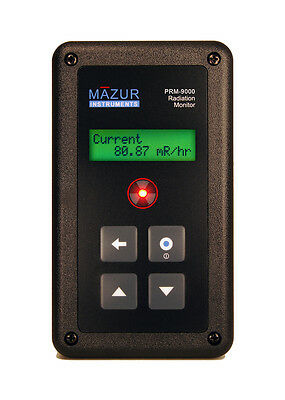 Prm-9000 Mazur Instruments Geiger Counter - Measures Alpha Beta Gamma Xray