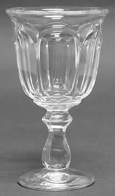 Imperial Glass Ohio OLD WILLIAMSBURG CLEAR Wine Glass 237447