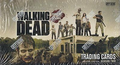 Cryptozoic Walking Dead Season 2 Trading Card Box