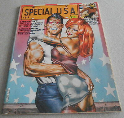 SPECIAL USA N°7 Editions des Savanes..Interview LIBERATORE..CORBEN..WILL EISNER