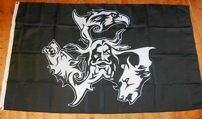 Pagan Front Viking Norse Odinist Asatru  Isd 3 X 5Ft Flag