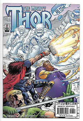 The Mighty Thor #550 2002 Asgard