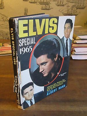 1964 Elvis Special 1965 Annual Edited By Albert Hand Rock And Roll