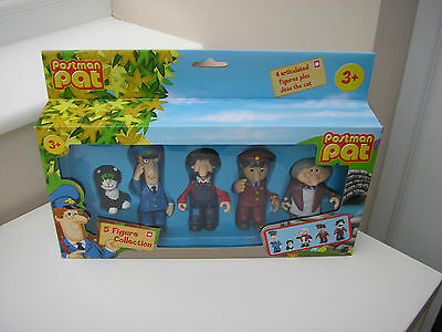 Postman Pat 5 Figure Collection Brand New