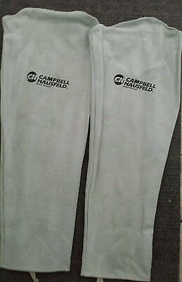 "Campbell Hausfeld split leather 22"" Welding arm protection gardening sleeves"