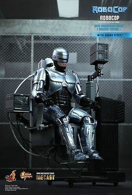 ROBOCOP - Robocop & Mechanical Chair 1/6th Scale Action Figure (Hot Toys) #NEW