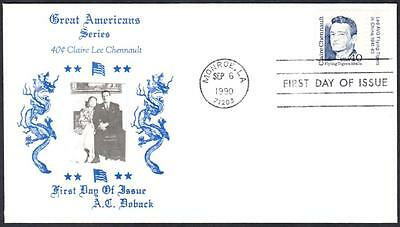 Claire Chennault Flying Tigers 2187 Doback First Day Cover FDC #4 of 12