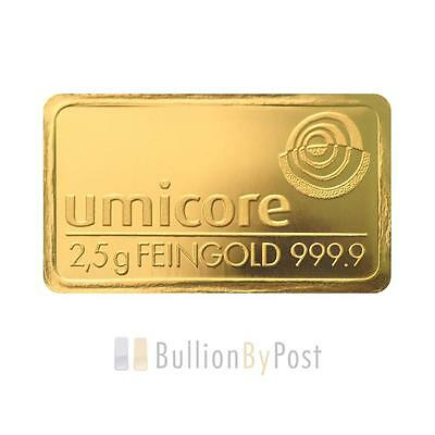 2.5 Gram Gold Bar Best Value