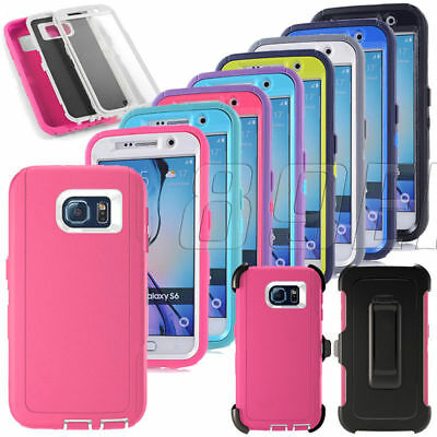 New Rugged High Impact Shockproof Armor Hybrid Case Cover For Various Cell Phone