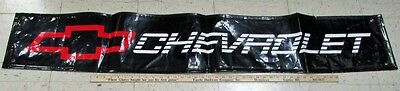 Vintage Chevrolet Dealer Showroom Banner Race Motorsports Performance GM Vinyl