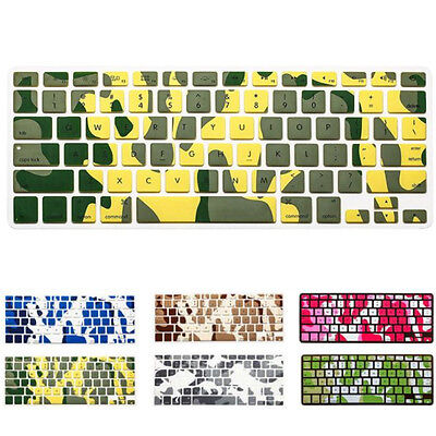 Soft Keyboard Silicone Cover Case Protect Skin For MacBook Pro 13''-15'' Keypad