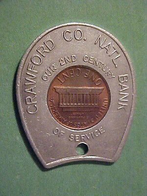 1978-D Crawford County National Bank Encased Cent