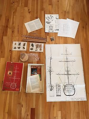 H.M.S. VICTORY 1/98 Scale Wood Ship Kit Modellismo Corel SRL -Partial for Parts