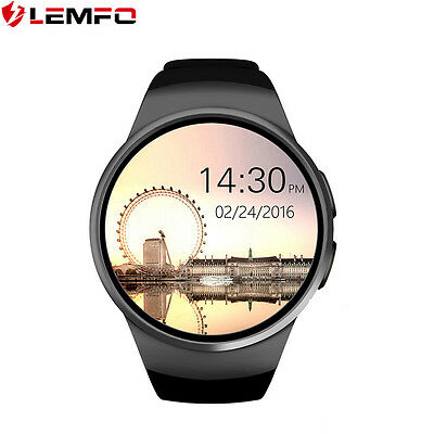 Lemfo KW18 Bluetooth Montre Intelligente SIM Card TF Card Pour Android IOS Phone