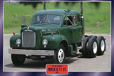 Mack  B-71 ST                 Glossy   Picture (T529)