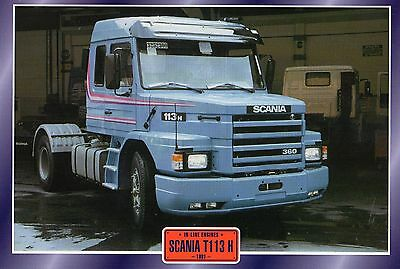 SCANIA  T113 H                    Glossy   Picture (T542)
