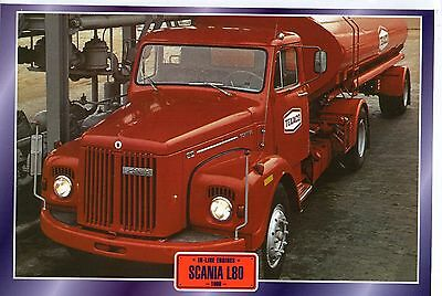 SCANIA  L80            Glossy   Picture (T552)