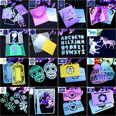 40 Styles HOT Metal Cutting Dies Stencil Scrapbook Album Paper Card Embossing