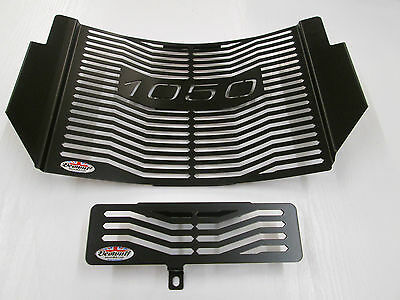 1050 Speed Triple (11-17) Black Radiator & Oil Cooler Protector, Cover, Grill  L