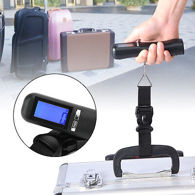 Portable Digital LCD Display Luggage Scale Travel Suitcase Bag Scale Weight DY