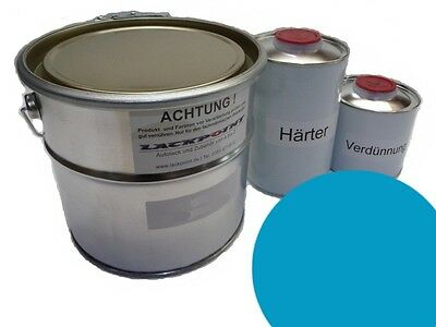 1,75 Liter Set 2K Car paint GDR Olympic Blue Simson Schwalbe blue IFA Lackpoint