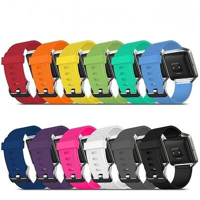 Replacement Silicone Gel Band Strap Bracelet Wristband for FITBIT BLAZE Sport UK