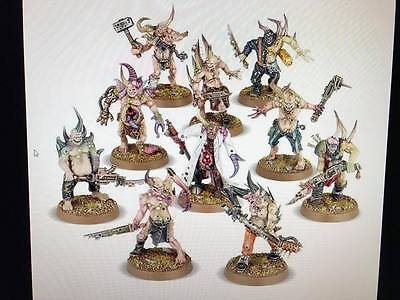 Warhammer 40,000 Chaos Space Marines 20 Death Guard Poxwalkers