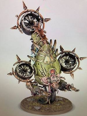 Warhammer 40,000 Chaos Space Marines Death Guard Foetid Bloat-drone