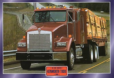 KENWORTH   T800                     Glossy   Picture (T596)