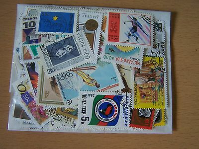100 Different World Stamps,excellent Lot.