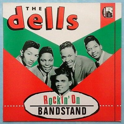Dells ~ Rockin' On Bandstand ~ 1983 Uk 16-Track Lp Record ~ Charly R&b Crb 1056